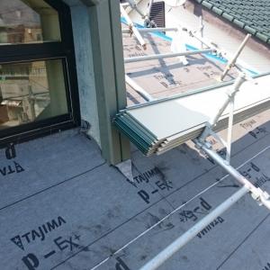 屋根改修工事その後